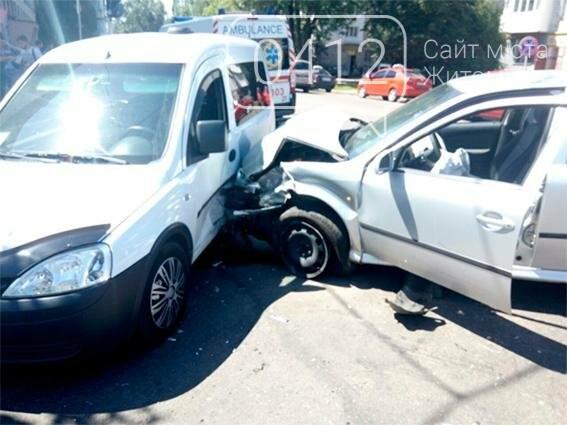 У Житомирі унаслідок ДТП постраждало 2 людей, фото-1