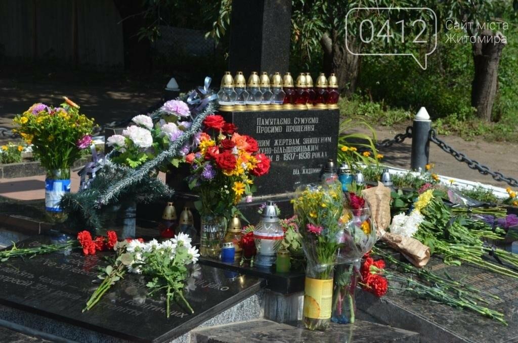 Житомиряни вшанували пам'ять жертв Великого терору, фото-1
