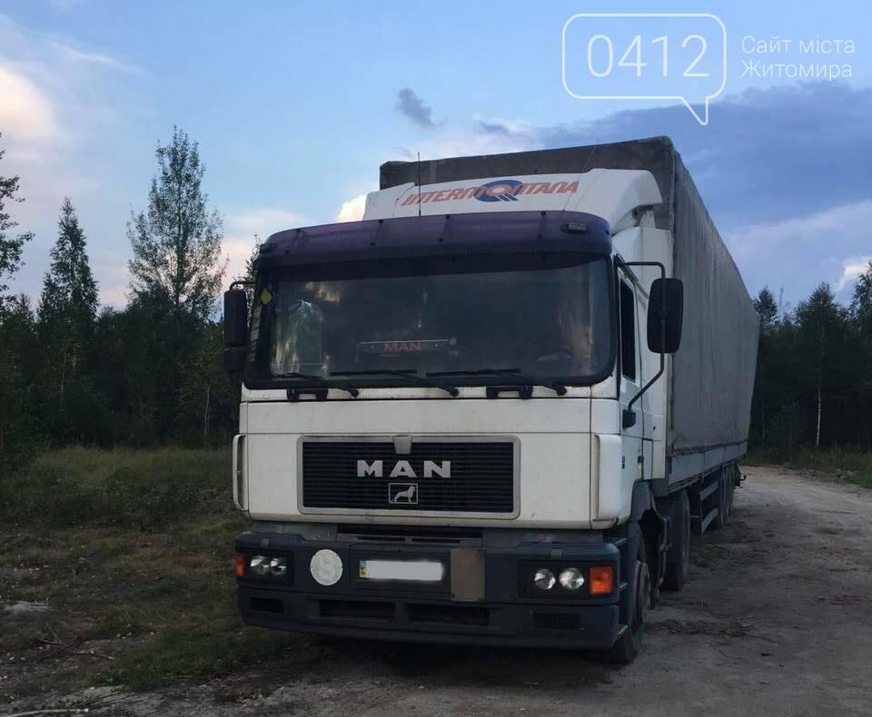 У Житомирському районі поліцейські виявили склад краденої деревини, фото-1