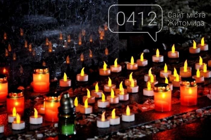 У Житомирі відкрили пам'ятник Героям Небесної Сотні, фото-12