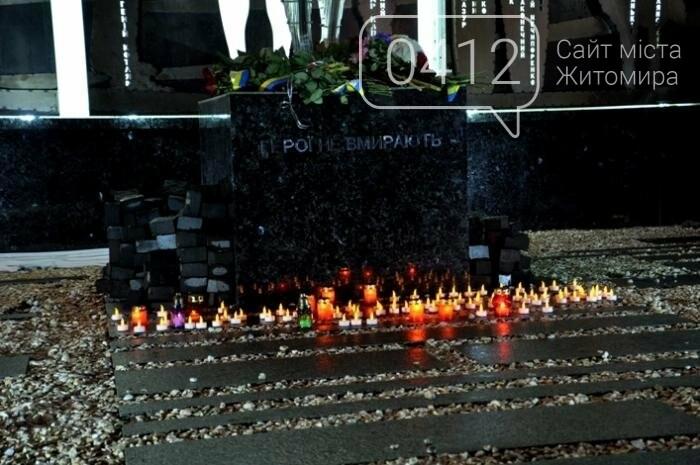 У Житомирі відкрили пам'ятник Героям Небесної Сотні, фото-15