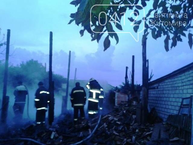 На Житомирщині від блискавок сталось три пожежі, фото-1