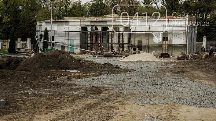 На стадіоні «Полісся» реставрують арку, в якій розміщуватиметься каса, фото-2