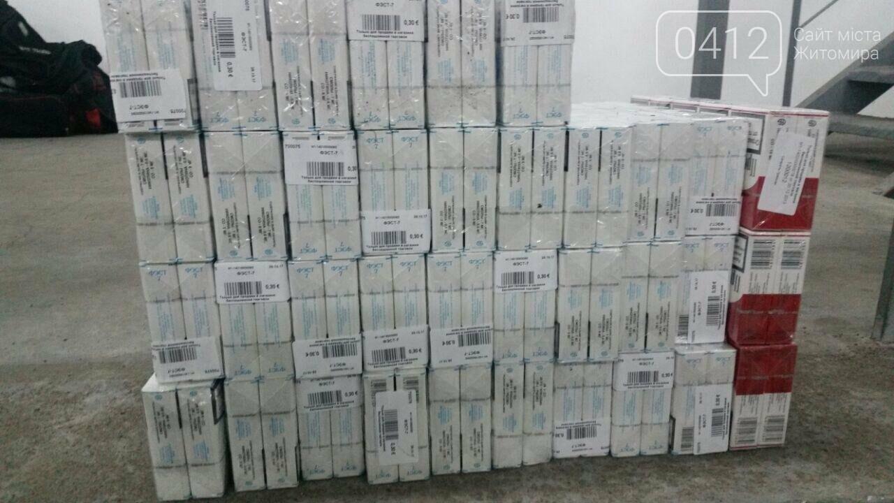 На Житомирщині викрили контрабандистів білоруських цигарок, фото-9