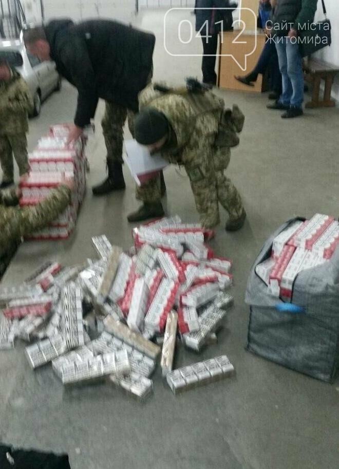 На Житомирщині викрили контрабандистів білоруських цигарок, фото-7