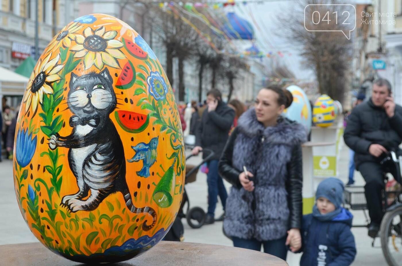 Ярмарок, фотолокації та розваги: у Житомирі розпочалися Великодні святкування, фото-1