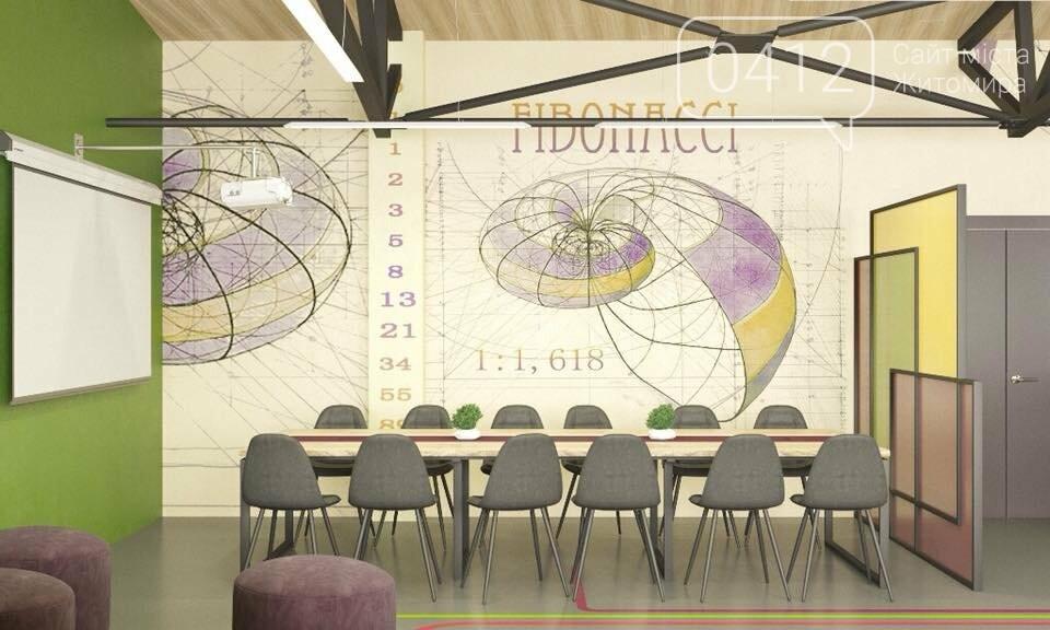 Яскравий і сучасний дизайн запропонували для Житомирської міської гімназії №3, фото-6
