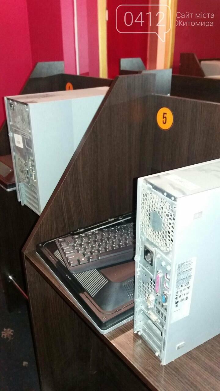 """У Житомирі """"трясли"""" гральні заклади: вилучили майже 70 комп'ютерів , фото-4"""