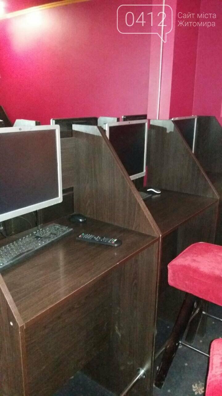 """У Житомирі """"трясли"""" гральні заклади: вилучили майже 70 комп'ютерів , фото-5"""