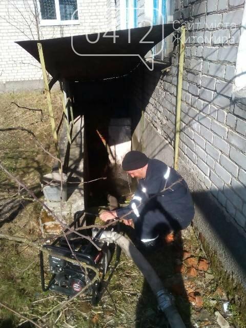 Вода затопила приміщення навчально-виховного комплексу в Пулинському районі, фото-2
