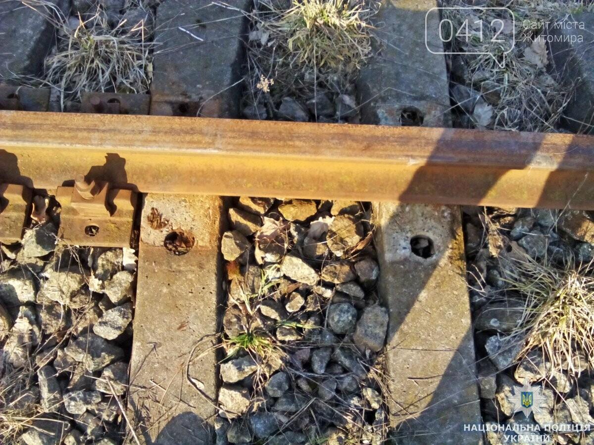 На Андрушівщині поліція викрила залізничного «диверсанта», фото-3