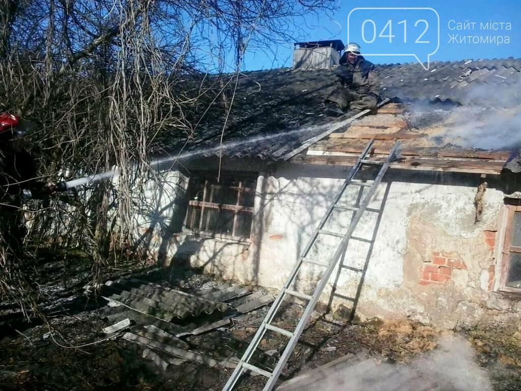На Житомирщині горять поля: вогонь переходить на будинки, фото-2