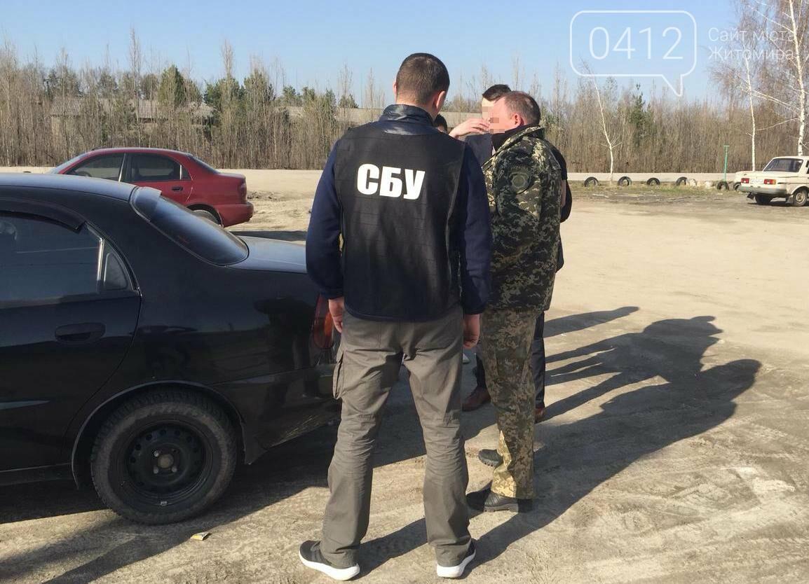 На Житомирщині СБУ затримала на хабарі посадовця пенітенціарного закладу, фото-6