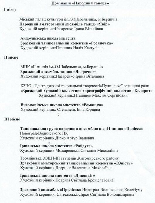 У Житомирі змагались танцювальні колективи з усієї області , фото-5