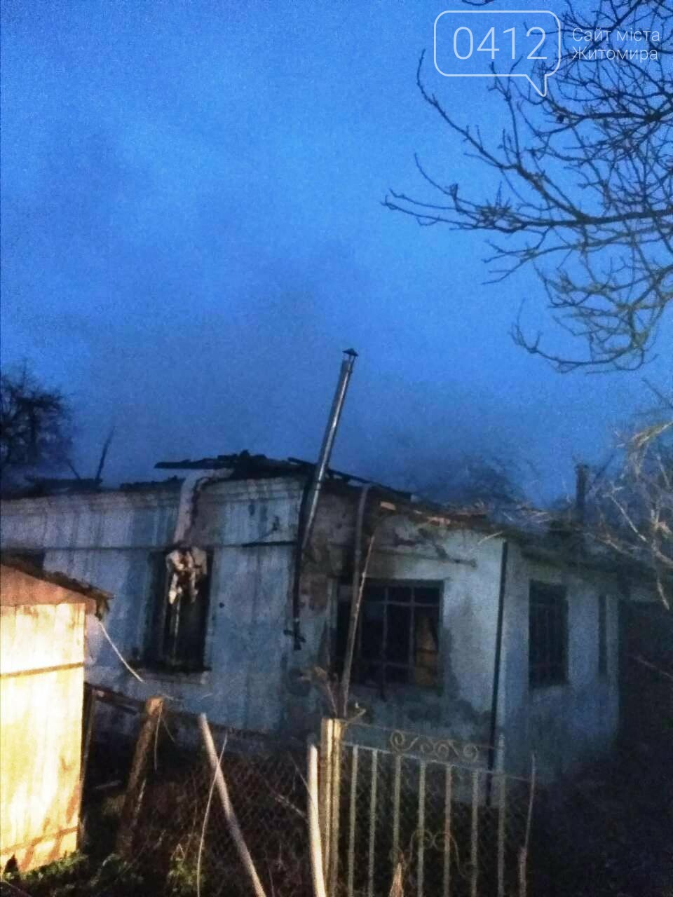 У Малині під час пожежі загинув 50-річний чоловік , фото-1