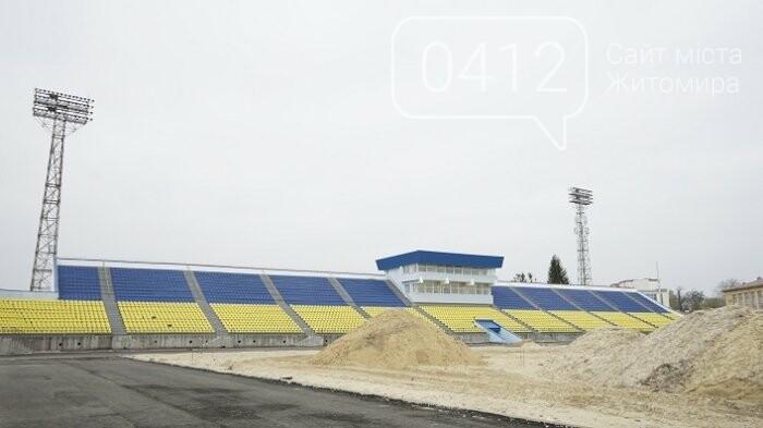 На стадіоні «Полісся» працюють над тренерською та тенісними кортами, фото-3