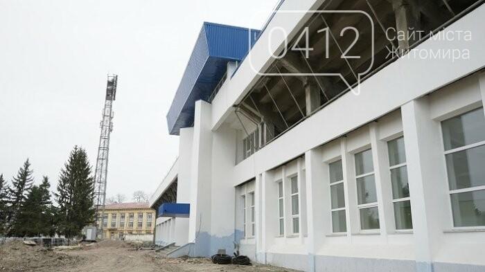 На стадіоні «Полісся» працюють над тренерською та тенісними кортами, фото-5