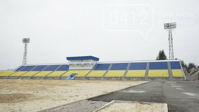 На стадіоні «Полісся» працюють над тренерською та тенісними кортами, фото-8