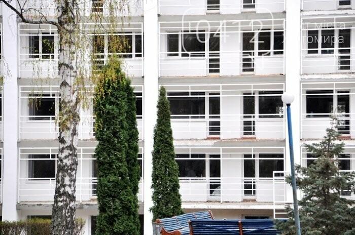 У Центрі вертебрології на Житомирщині вже переходять до ремонту другого поверху, фото-2
