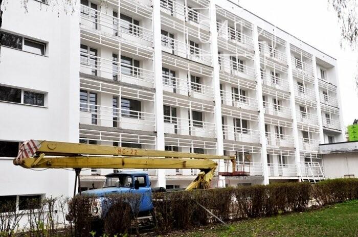 У Центрі вертебрології на Житомирщині вже переходять до ремонту другого поверху, фото-14