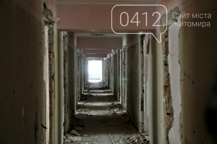 У Центрі вертебрології на Житомирщині вже переходять до ремонту другого поверху, фото-7