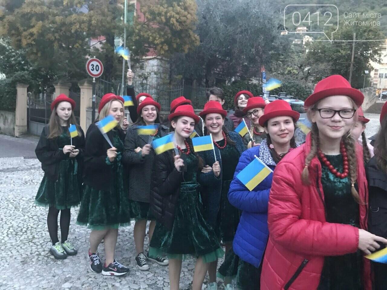 """Житомирський хор """"Gloria"""" привіз із Італії срібні нагороди, диплом та спеціальний приз, фото-3"""