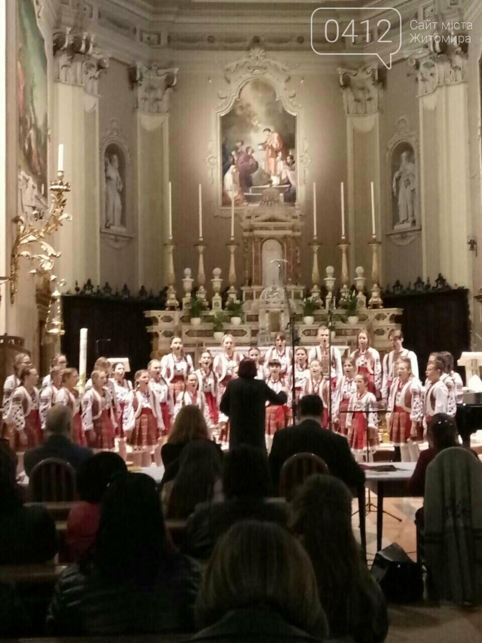 """Житомирський хор """"Gloria"""" привіз із Італії срібні нагороди, диплом та спеціальний приз, фото-6"""
