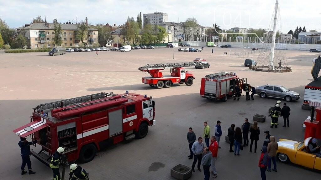 Житомирські вогнеборці ліквідували умовну пожежу в кінотеатрі «Мультиплекс», фото-6