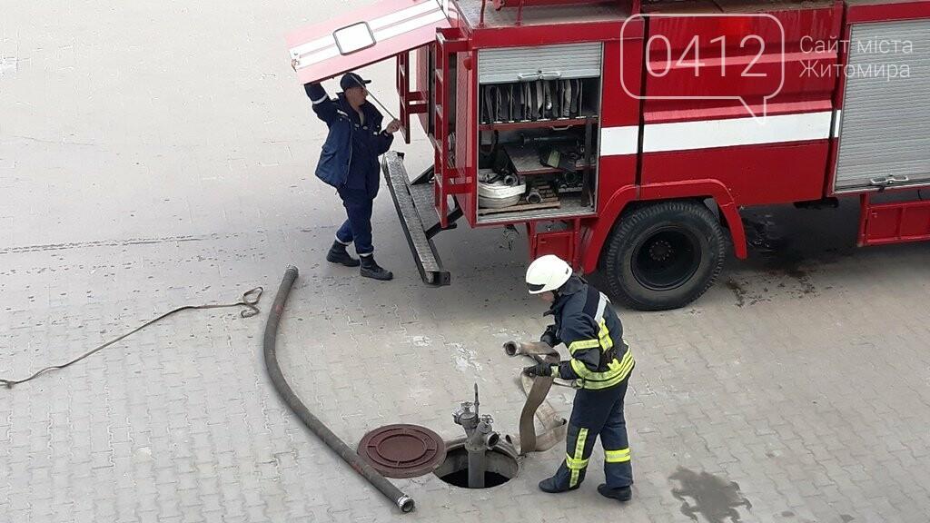 Житомирські вогнеборці ліквідували умовну пожежу в кінотеатрі «Мультиплекс», фото-7