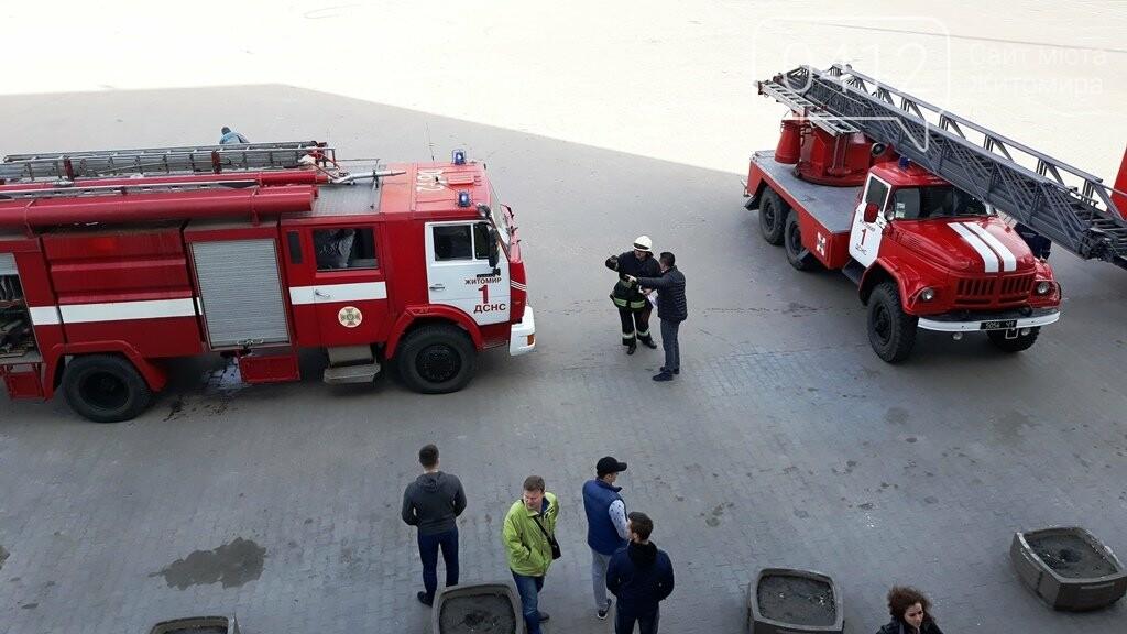 Житомирські вогнеборці ліквідували умовну пожежу в кінотеатрі «Мультиплекс», фото-8