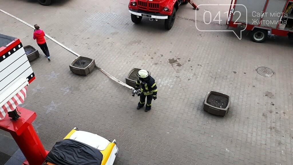 Житомирські вогнеборці ліквідували умовну пожежу в кінотеатрі «Мультиплекс», фото-14
