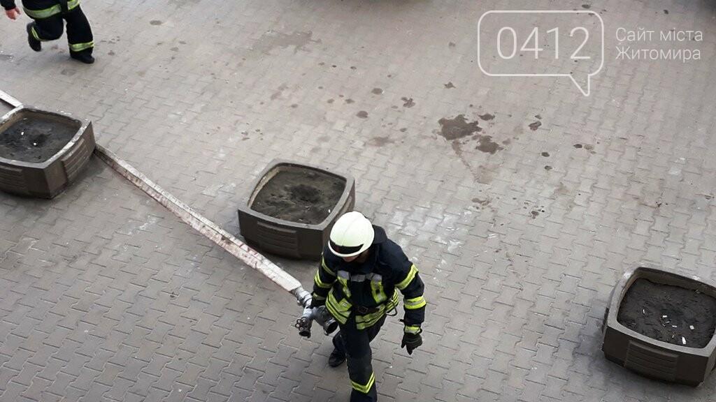 Житомирські вогнеборці ліквідували умовну пожежу в кінотеатрі «Мультиплекс», фото-9