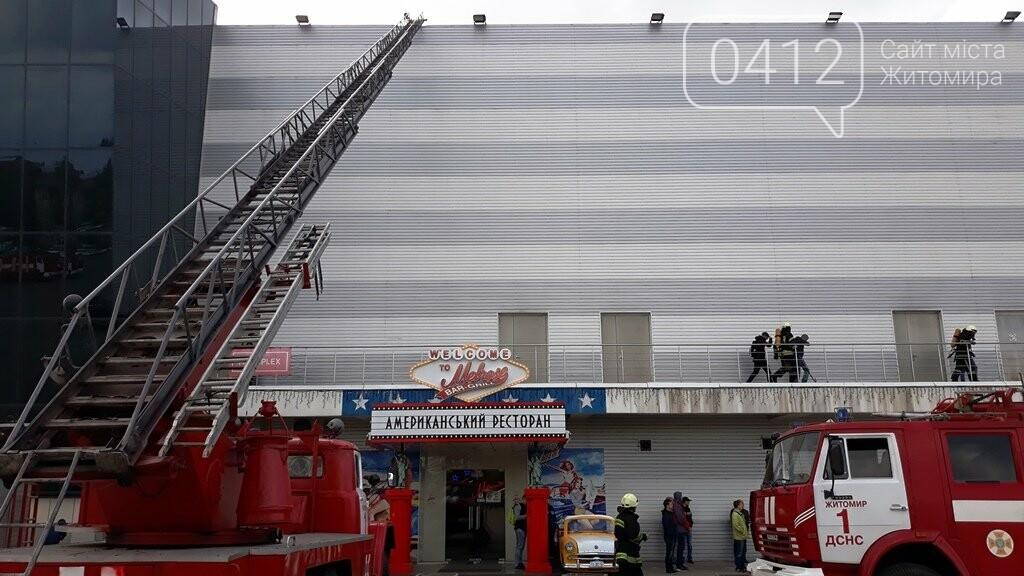 Житомирські вогнеборці ліквідували умовну пожежу в кінотеатрі «Мультиплекс», фото-13