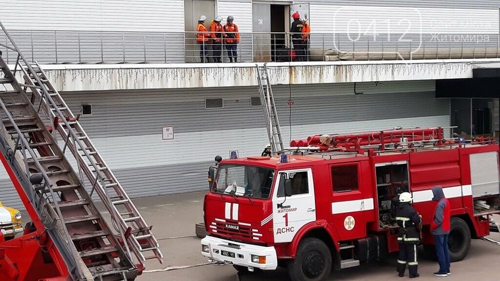 Житомирські вогнеборці ліквідували умовну пожежу в кінотеатрі «Мультиплекс», фото-18