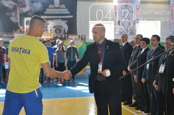 У Житомирі проходить Чемпіонат та Кубок України з гирьового спорту, фото-2