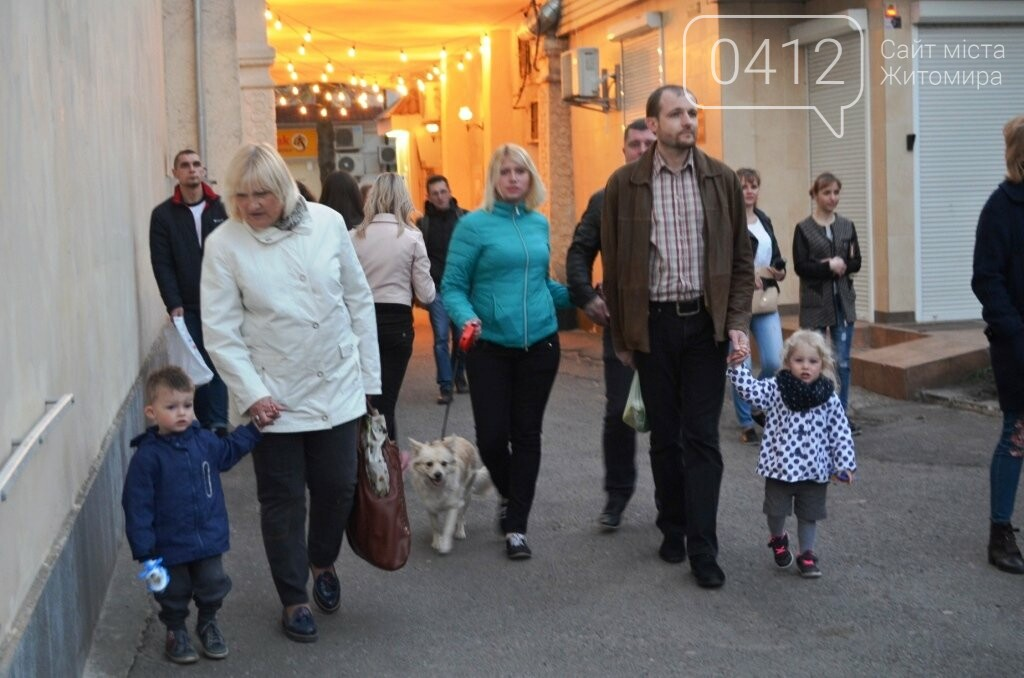 """У Житомирі презентували """"вуличний кінотеатр"""", фото-5"""