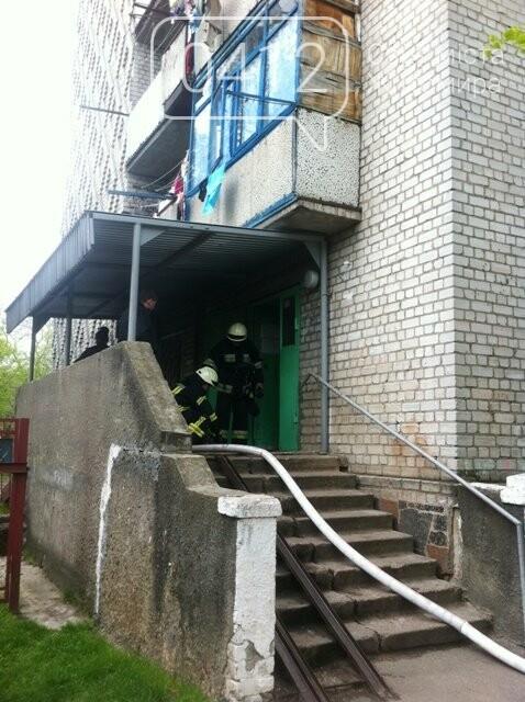 У Житомирі на 9 поверсі загорілась кімната гуртожитку, фото-5