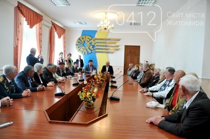 Ліквідатори аварії на ЧАЕС з Житомирщини отримали почесні відзнаки, фото-11