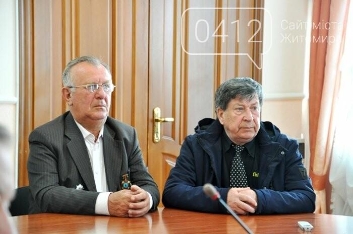 Ліквідатори аварії на ЧАЕС з Житомирщини отримали почесні відзнаки, фото-3
