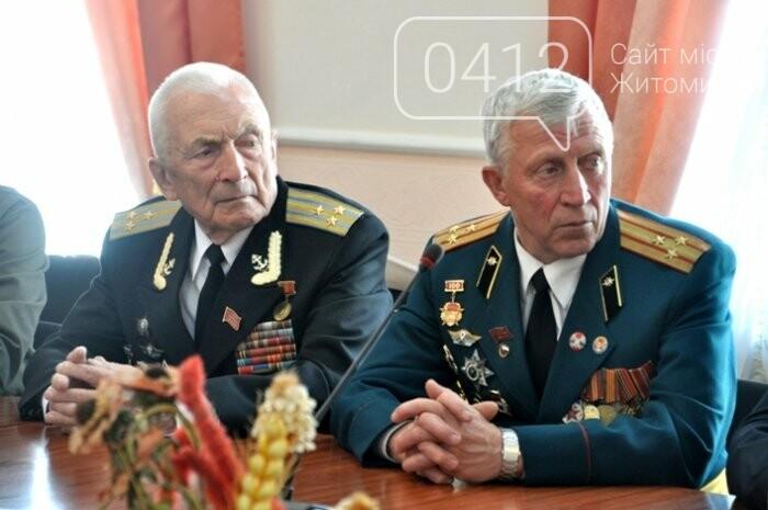 Ліквідатори аварії на ЧАЕС з Житомирщини отримали почесні відзнаки, фото-4