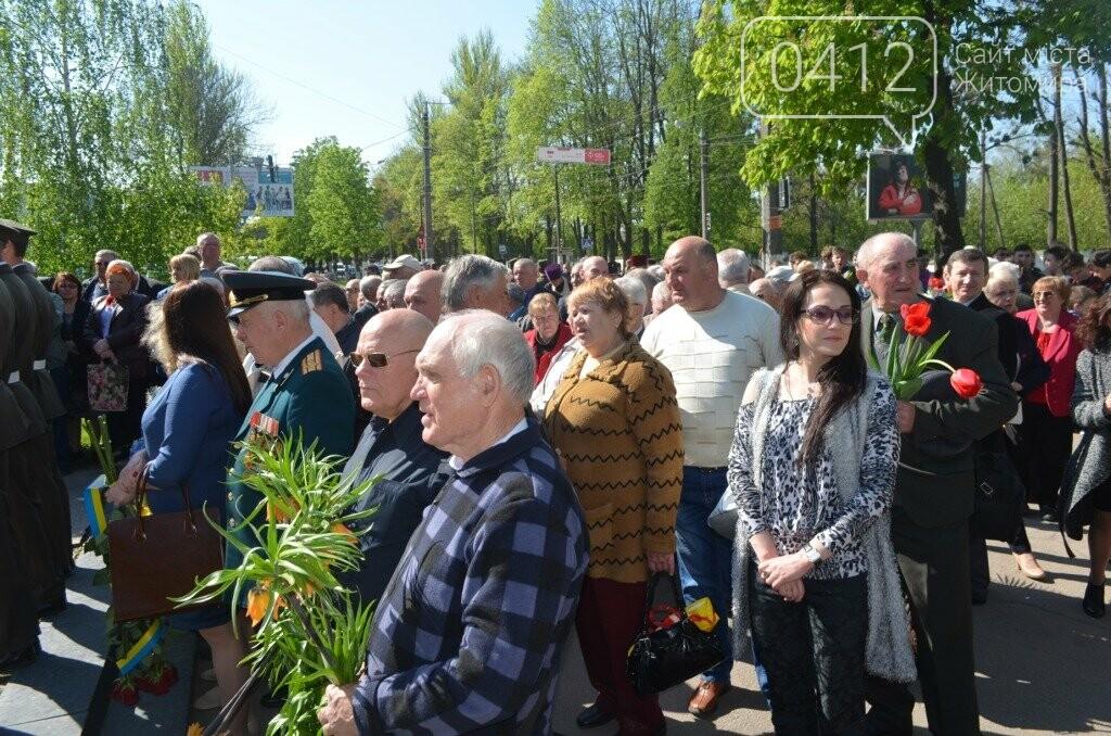Житомир вшановує пам'ять жертв Чорнобильської катастрофи, фото-5