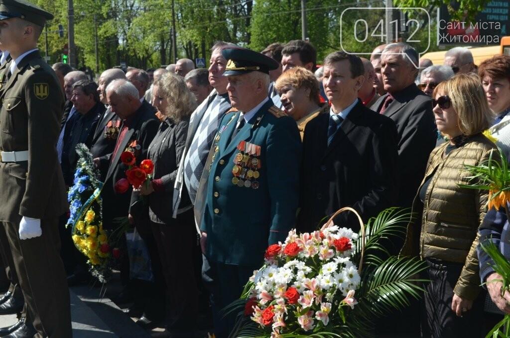 Житомир вшановує пам'ять жертв Чорнобильської катастрофи, фото-11