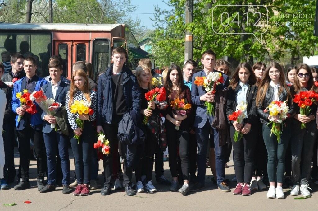 Житомир вшановує пам'ять жертв Чорнобильської катастрофи, фото-8