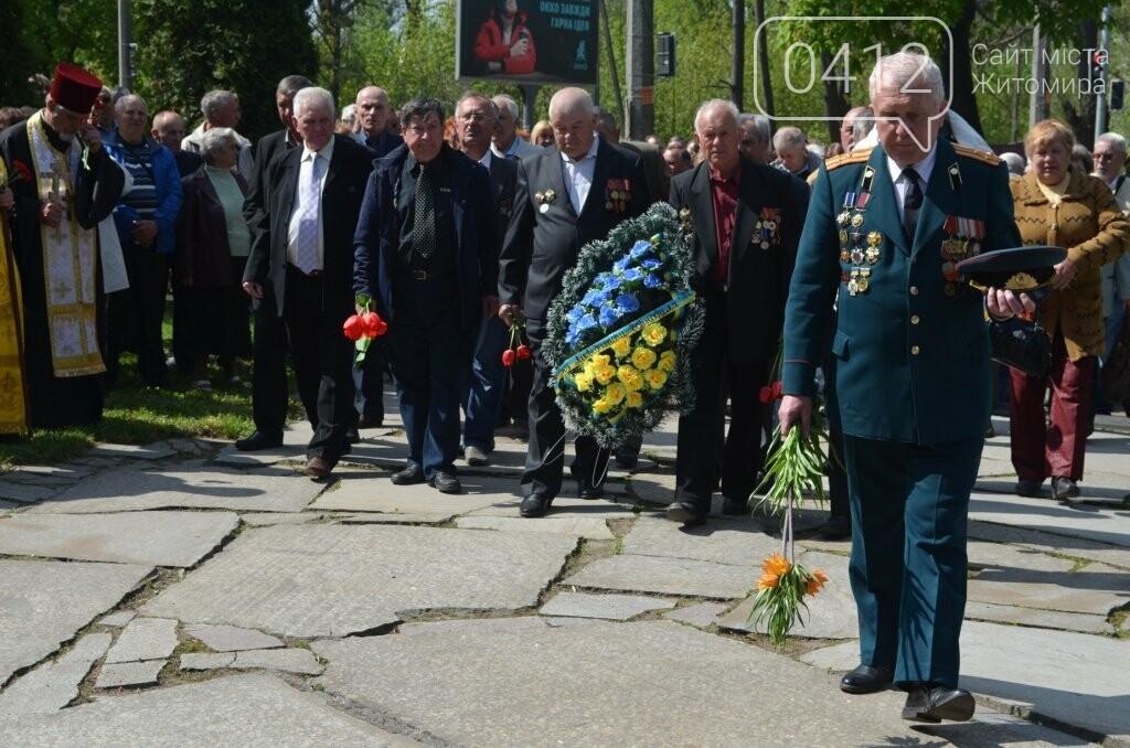 Житомир вшановує пам'ять жертв Чорнобильської катастрофи, фото-10