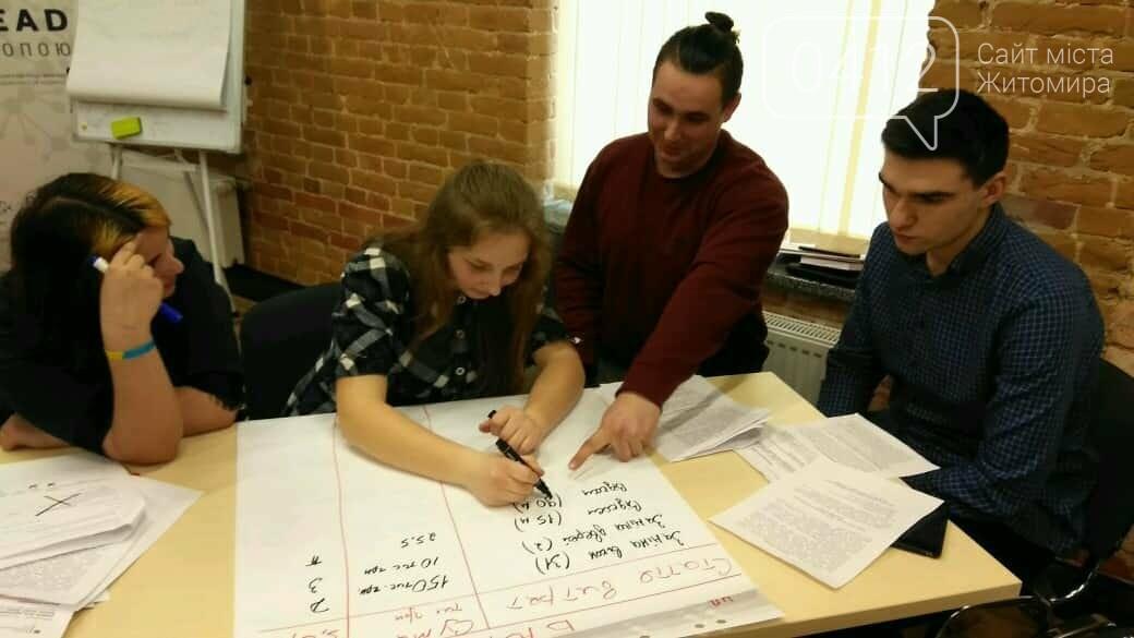 Студентів Житомирщини навчали проектному менеджменту, фото-4
