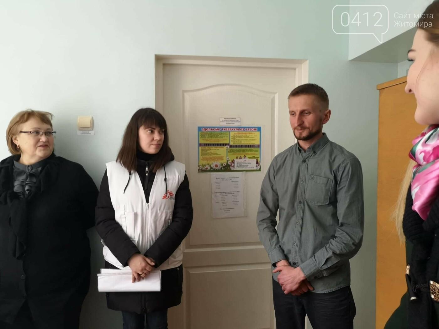 На Житомирщині вилікувався перший пацієнт із хіміорезистентним туберкульозом, фото-2