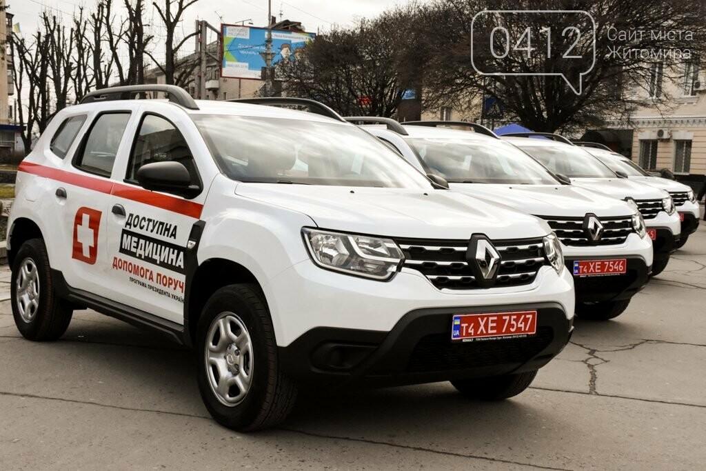 22 автомобілі «Renault Duster» отримали сільські лікарі Житомирщини, фото-2
