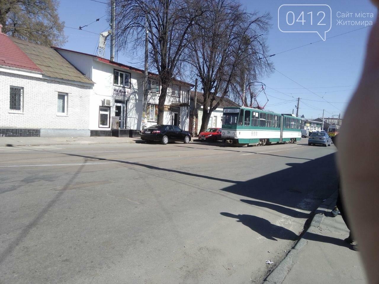 Рух трамваїв в Житомирі сьогодні буде призупинено. Оновлено, фото-1