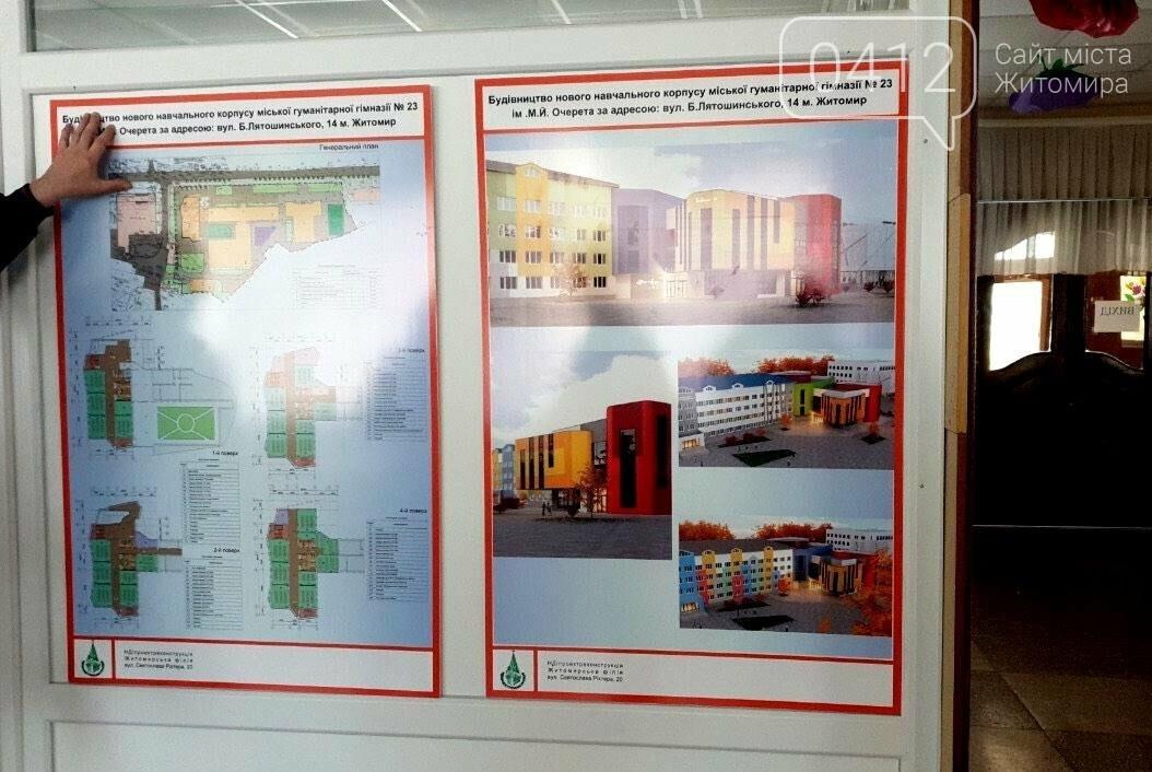 Якою буде новий корпус Житомирської гуманітарної гімназії №23?, фото-2