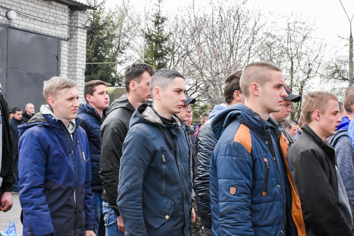 Юнаків Житомирщини відправили на строкову службу, фото-20